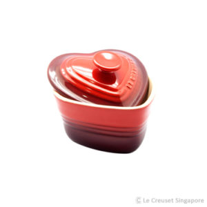 Le Creuset_Heart_Ramekin_Red